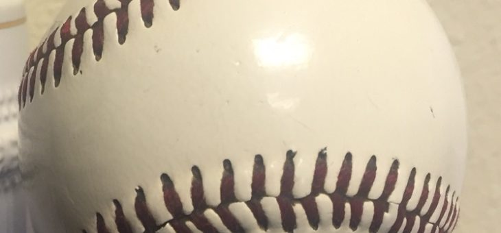 The Baseball On My Desk