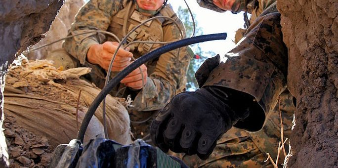 Veterans and the Destructive Power of Explosives