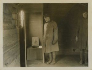 Troop car latrines (Reeve 014290), National Museum of Health and Medicine. 20 January 1919