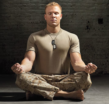 Mindfulness: Veterans Focusing on Now, Not the Past or Future