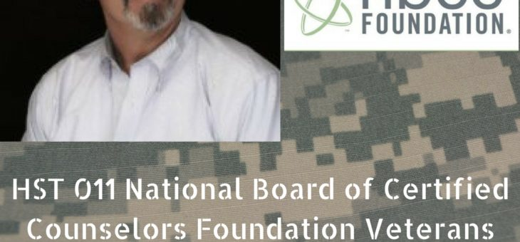 HST 011: National Board of Certified Counselors Foundation Veterans Initiatives with Greg Frazier