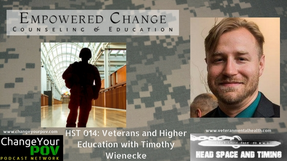 HST 015: Veterans and Higher Education with Timothy Wienecke