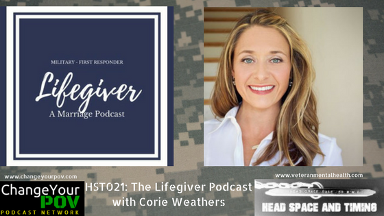 HST 021 The Lifegiver Podcast with Corie Weathers