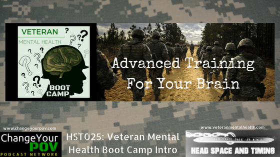 HST025 Introduction to Veteran Mental Health Boot Camp
