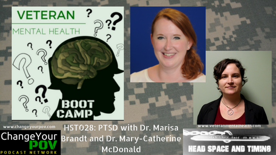 HST028 PTSD with Dr. Marisa Brandt and Dr. MaryCatherine McDonald