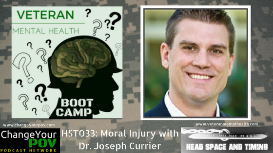 HST033: Moral Injury with Dr. Joseph Currier