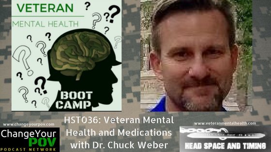 HST036: Medications and Veteran Mental Health with Dr. Charles Weber