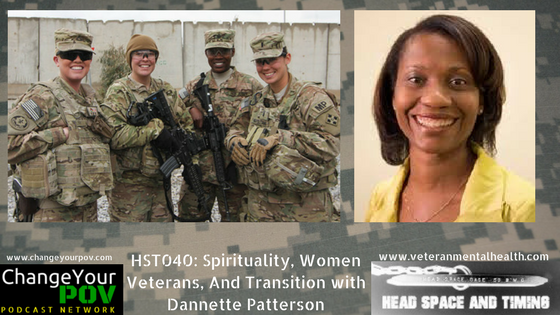 HST040: Spirituality, Women Veterans, and Transition with Dannette Patterson