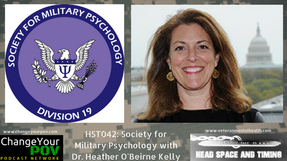 HST042: Society for Military Psychology with Dr. Heather O'Beirne Kelly