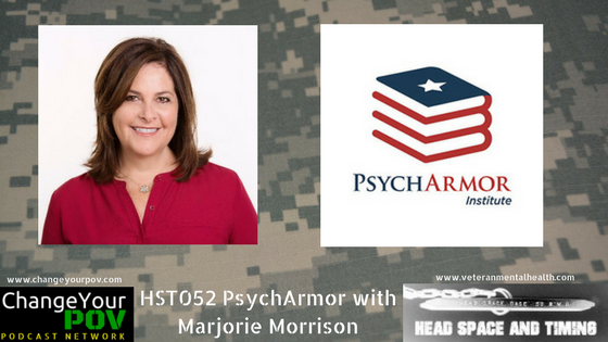 HST052 PsychArmor with Marjorie Morrison