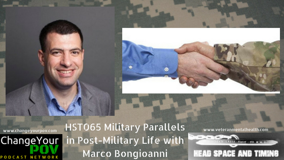 HST065: Military Parallels in Post-Military Life with Marco Bongioanni