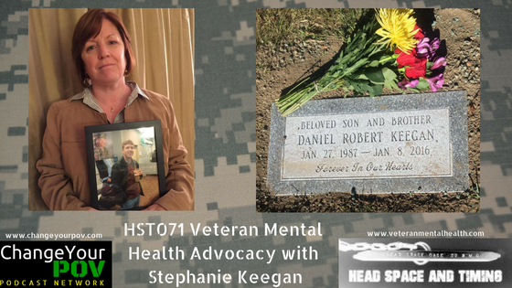 HST071: Veteran Mental Health Advocacy with Stephanie Keegan
