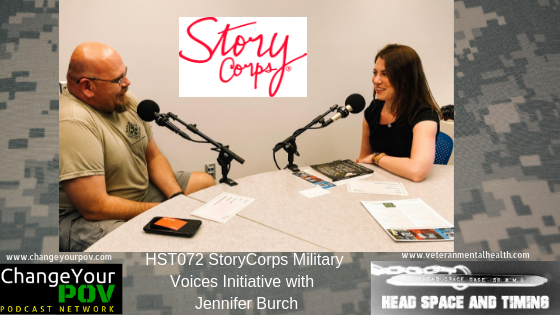 HST072 StoryCorps Military Voices Initiative with Jennifer Burch