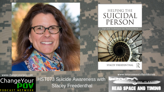 HST073 Suicide Awareness with Stacey Freedenthal