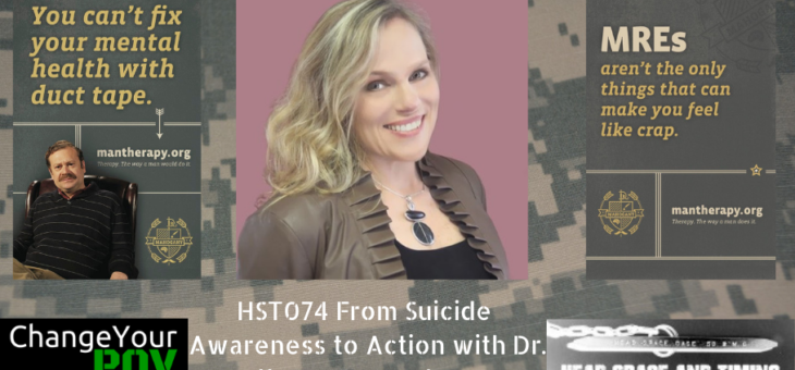 HST074 From Suicide Awareness to Action with Dr. Sally Spencer-Thomas
