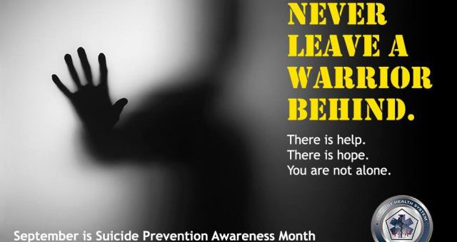 National Suicide Awareness Month 2018