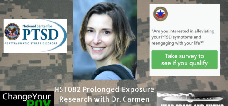HST082 Prolonged Exposure Research with Dr. Carmen McLean
