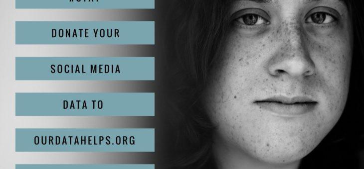 Donate Social Media Information to Stop Veteran Suicide