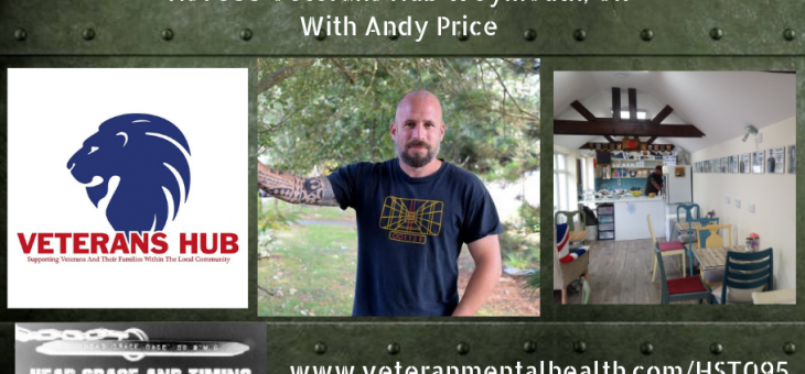 HST095 Veterans Hub Weymouth, UK with Andy Price