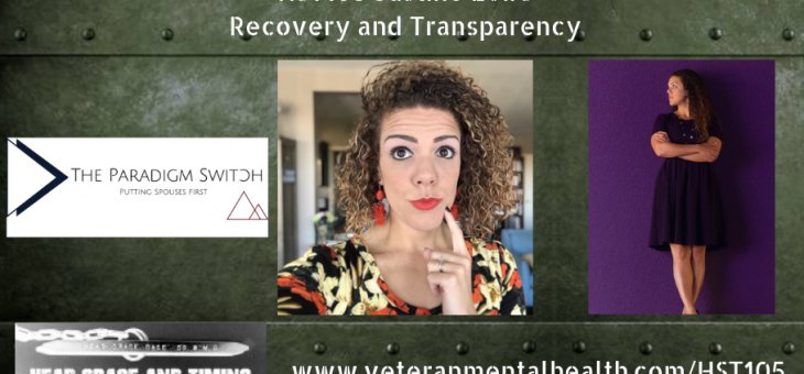 HST105 Justine Evirs – Recovery and Transparency