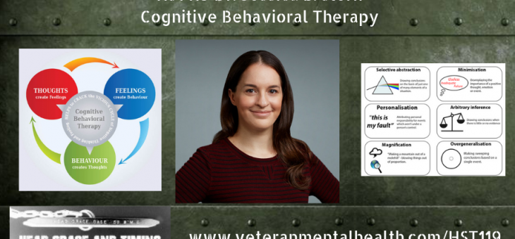 HST119 Dr. Jessica B. Stern – Cognitive Behavioral Therapy