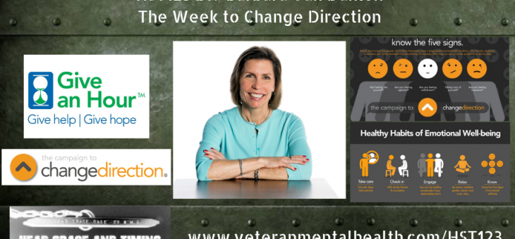 HST123 – Dr. Barbara Van Dahlen – The Week to Change Direction