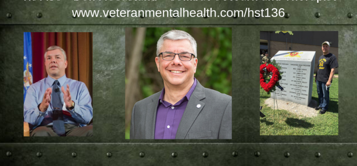 HST136 – Don McCasland – Combat Veteran and Therapist