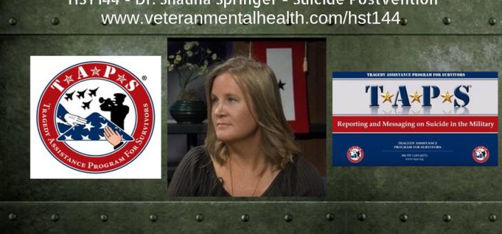 HST144 – Dr. Shauna Springer – Suicide Postvention