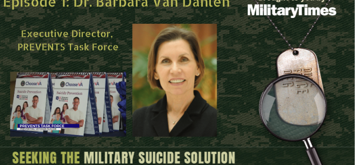 STMSS01 – Dr. Barbara Van Dahlen – PREVENTS Task Force