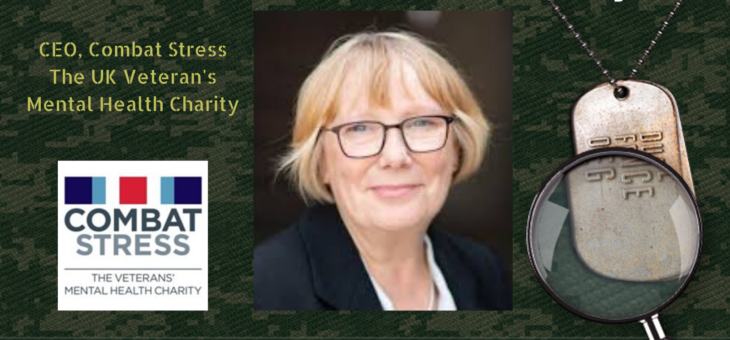 STMSS25 – Sue Freeth – Combat Stress UK
