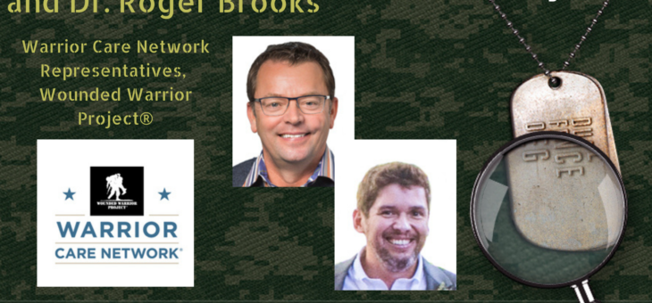 STMSS35 – Mike Richardson and Dr Roger Brooks – Wounded Warrior Project